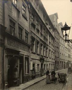 Breslau. Krullstrasse, do 1911 Hinterhäuser (Psie Budy 14-8 z widokiem w stronę Ruskiej).
