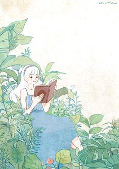 44번째 이미지 Character Art, Character Design, Book And Coffee, Cartoon Art Styles, Dibujos Cute, Anime Art Girl, Aesthetic Art, Cute Drawings, Cute Art