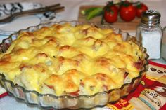 Nagyon finom és laktató étel! Romanian Food, Hungarian Recipes, Apple Pie, Macaroni And Cheese, Muffin, Food And Drink, Appetizers, Cooking Recipes, Breakfast