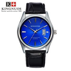 Features and specifications: Dial - Shape: Round - Movement type: Quartz - Display type: Pointer - Pointer color: Silver - Dial color: Black, white, brown, blue Band - Material: Stainless Steel/leather - Clasp type: Folding clasp - Band color: Silver/black, brown Watch - Length: approx. 240 mm - Dial diameter: approx. 40.5 mm - Dial thickness: approx. 9 mm - Weight: approx. 90 g Package : 1 x watch Mens Sport Watches, Luxury Watches For Men, Bracelet Cuir, Business Fashion, Bracelets, Mens Fashion, Style Fashion, Fashion Wear, Ebay