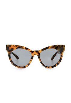 Karen Walker Starburst Sunglasses #tortoise #cateye