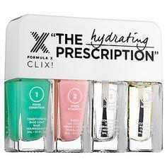 Formula X - The Prescription CLIX! – Treatment Nail Polish Set #sephora