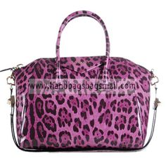 Givenchy Pink Antigona Duffel Leopard Patent Leather Tote Bag.  RRP: $1,080.00.  Your Price: $319.99.  (You save $760.01).  Brand: Givenchy.  Givenchy Pink Antigona Duffel Leopard Patent Leather Tote Bag detailed physical characteristics and size, so that you can have a more detailed information about it.  http://www.handbagsbagsmall.com/products/Givenchy-Pink-Antigona-Duffel-Leopard-Patent-Leather-Tote-Bag.html