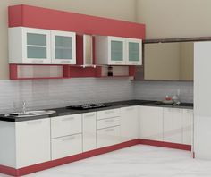 Fabulous Modern Kitchen Sets on Simplicity, Efficiency and Elegance - Home of Pondo - Home Design Modern Kitchen Cabinets, Kitchen Cabinet Design, Kitchen Interior, Gray Cabinets, Bedroom Paint Design, Bed Design, Kitchen Modular, Manufactured Home Remodel, Farmhouse Style Kitchen