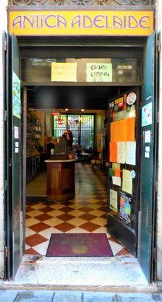 Schöne Bar: Antica Adelaide, Venedig - Foto: S. Hopp