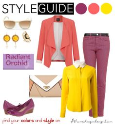bright outfit with Radiant Orchid for Clear Spring