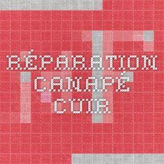 Réparation canapé cuir