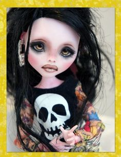 NEW Ooak Monster High Draculaura Custom Repaint BY Rogue Lively | eBay