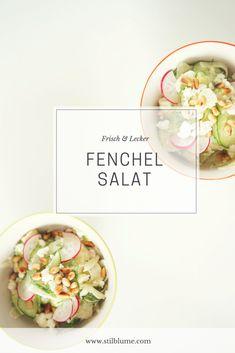 Frischer Fenchelsalat mit saurem Apfel und Gurke! #salat #fenchel #gurke #apfel #grannysmith #rezept