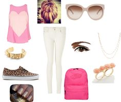 """""""Sienna's back to school outfit!"""" by mammothmadi on Polyvore"""