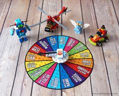 Free Printable LEGO Challenge Game | artsy-fartsy mama