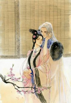 Ancient chinese couple