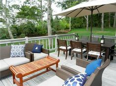 A great deck for entertaining!