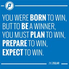 Playmakers plan, prepare, and expect to win! Zig Ziglar, You Must, Motivational, How To Plan, My Love, Quotes, Sports, My Boo, Qoutes