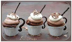 Iced Coffee cup cake