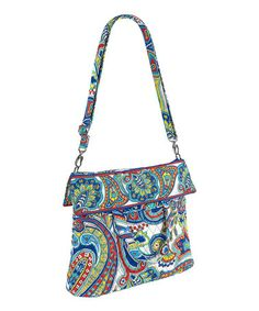 Look at this #zulilyfind! Marina Paisley Convertible Crossbody Bag #zulilyfinds