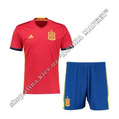 Форма Испании на ЕВРО-2016 Adidas домашняя