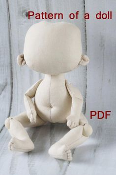 Best 12 PDF Pattern Soft Doll PATTERN Cloth Doll Pattern doll Make a Doll Textile doll Sewing Pattern PDF Sew a doll Pattern of the doll body Craft doll handmade This doll grows cm / inches This PDF includes only a pattern. Handmade Dolls Patterns, Doll Sewing Patterns, Sewing Dolls, Doll Clothes Patterns, Fabric Doll Pattern, Fabric Dolls, Rag Dolls, Rag Doll Tutorial, Doll Making Tutorials