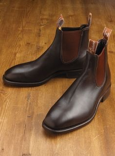 R.M. Williams Boots in Chestnut, great colour.
