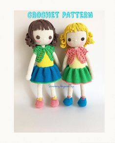 Amigurumi Crochet Doll Pattern - Mysia - almost seamless (English ONLY)