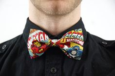A Marvel bow tie. | Community Post: 25 Geeky Gifts Every Marvel Fan Needs