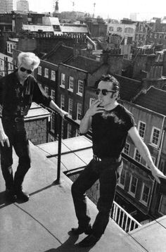 Jim Jarmusch & Joe Strummer