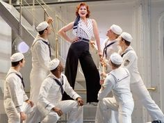 2011 Revival of Anything Goes (with Stephanie J. Block and Joel Grey) #AnythingGoes #Musical #Theatre