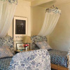 Blue bedroom - sweet