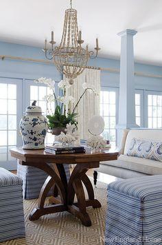 beautiful blue | fabulous fabrics | lighting