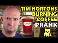 Tim Hortons Burning Coffee Prank - Ownage Pranks (+playlist) LMFAO !!!