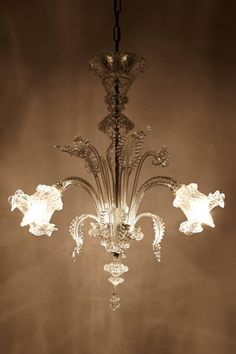 Murano Glass Chandelier - anthropologie.com