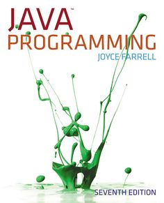 Solutions Manual for Java Programming Edition by Joyce Farrell - 2020 Test Bank and Solutions Manual Computer Coding, Computer Programming, Computer Science, Java Programming Language, Programming Languages, Coding Jobs, Sell Textbooks, Study Test, Object Oriented Programming