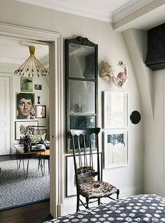 Black, white and gray make for a timeless color palette in any interior.