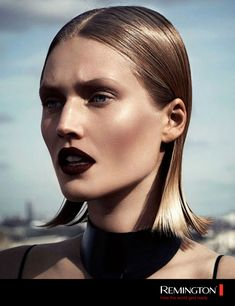 Model Toni Garrn Vamp Vampy Beauty Editorial Interview Magazine Russia April 2014 Photographers Driu & Tiago Styled by Katie Burnett Slicked. Toni Garrn, Editorial Hair, Beauty Editorial, Black Makeup Editorial, Beauty Makeup, Hair Makeup, Hair Beauty, Eye Makeup, Makeup Geek