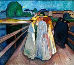 Edvard Munch The Ladies on the Bridge, 1903