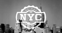 Adidas NYC skateboarding #design #graphic #logo
