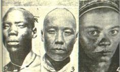 "DNA Evidence Proves That The First People In China Were Black: Scientist Li Hui proved 100,000 years ago humans began migrating through South  Southeast Asia into China from Africa. Testing showed 65 branches of Chinese all carry similar DNA mutations as the people of Southeast Asia. Scientist Jin Li said, ""we did not see even one single individual that could be considered as a descendant of the hοmo erectus in China, rather, everybody was a descendant of our ancestors from Africa."""