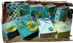 Bolsas de papel decoradas para regalar un detalle a tus invitados