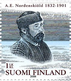 Adolf Erik Nordenskiöld (2008) Time Travel, Postage Stamps, Finland, Winter, Movie Posters, Beautiful, The World, Door Bells, Winter Time