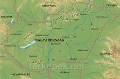 Magyarország Uti Térkép