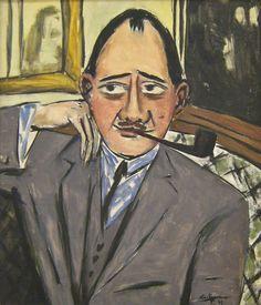 Max Beckmann | max beckmann - retrato de un frances 1933