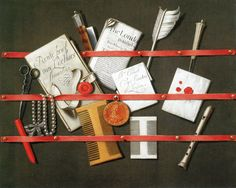 Edward Collier   Still Life: A Letter Rack
