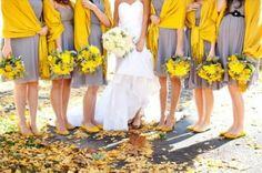 grey-yellow-bridesmaids
