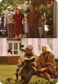 The Notebook. The true definition of love. Ryan Gosling, Rachel McAdams, James Garner, Gena Rowlands