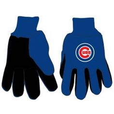 Chicago Cubs MLB Two Tone Gloves