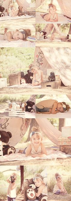 Outdoor Tent Photo Shoot-I want to do this with my boys!