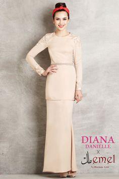 f7febe59d8e Emel X Diana Danielle 2014 Collection - Emel by Melinda Looi Muslim  Fashion