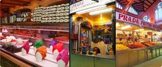 The Cool Hunter - Events Fashion Installation, Prada, Produce Market, Open Market, Valencia Spain, Event Decor, Event Design, Central Market, Marketing