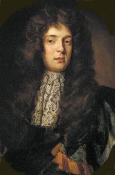 William Fermor, 1st Baron Leominster, by Godfrey Kneller, second husband of Lady Sophia Osborne, his 3rd wife.  Nicholas Hawksmoor built Easton Neston, Northamptonshire, for him.