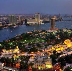 Zamalek Island, Cairo #Egypt